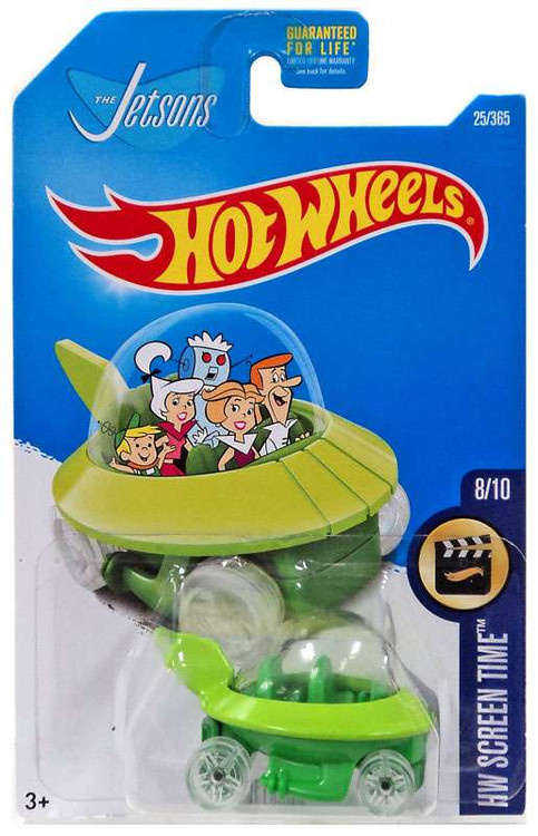 Hot Wheels HW Screen Time The Jetsons Diecast Car #8/10