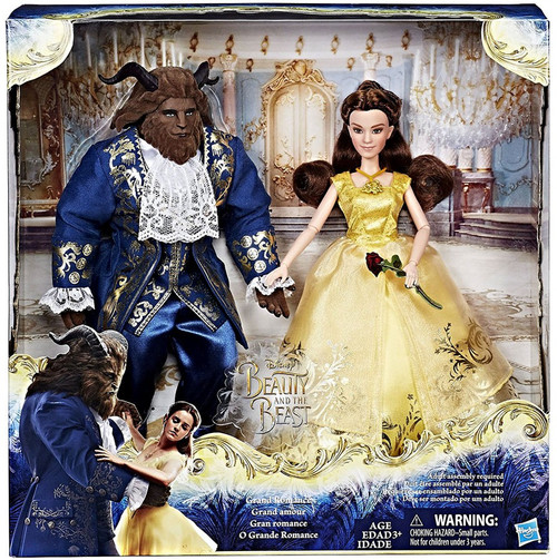 Hasbro Disney Beauty and the Beast Grand Romance Doll 2-P...