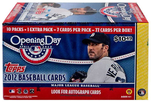 MLB 2012 Topps Baseball Cards 2012 Opening Day Trading Ca...