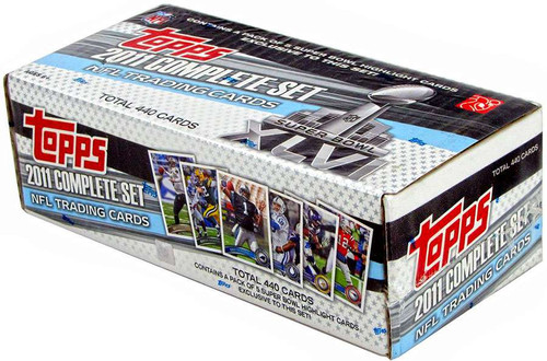 NFL 2011 Topps Football Cards Complete Set [Super Bowl] [...