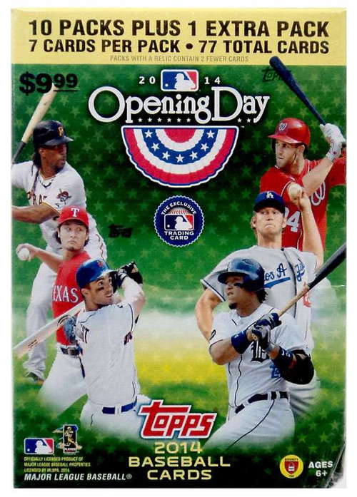 MLB 2014 Topps Baseball Cards 2014 Opening Day Trading Ca...