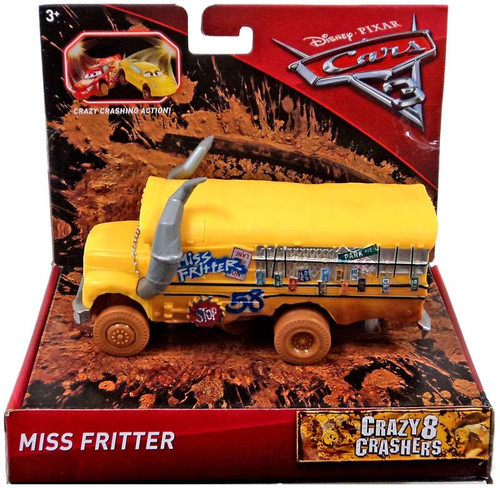 Disney Cars Cars 3 Crazy 8 Oversized Crashers Miss Fritter