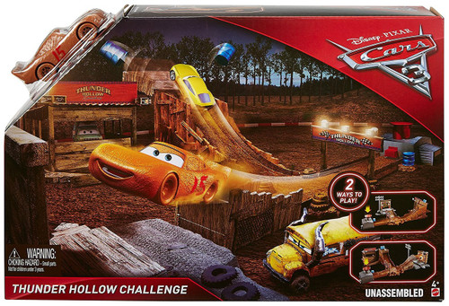 Disney cars cars 3 thunder hollow challenge playset mattel toys toywiz - Coloriage cars 3 thunder hollow ...