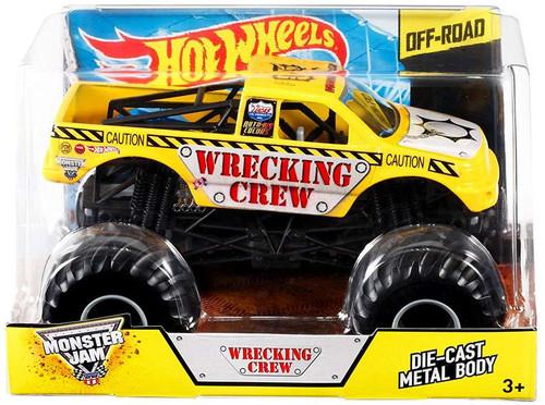 Mattel Hot Wheels Monster Jam 25 Wrecking Crew Diecast Car