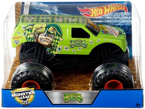 Mattel Hot Wheels Monster Jam 25 Jester Diecast Car