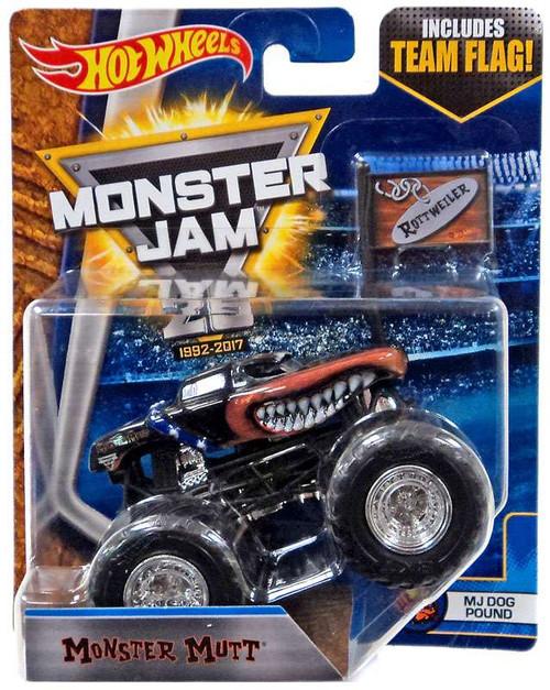 Hot Wheels Monster Jam 25 Monster Mutt Die-Cast Car [MJ D...