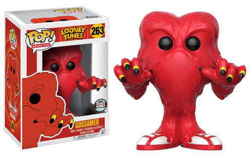 Funko Looney Tunes Pop Animation Gossamer Exclusive Vinyl