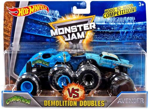 Mattel Hot Wheels Monster Jam 25 Demolition Doubles Crush...