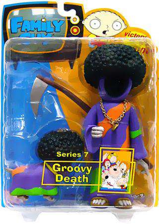 Family Guy Series 7 Death Action Figure [Groovy, Damaged ...
