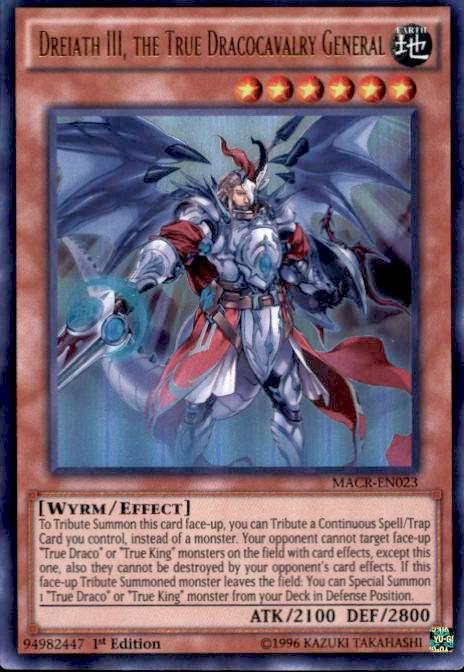 Yugioh Maximum Crisis Single Card Ultra Rare Dreiath Iii
