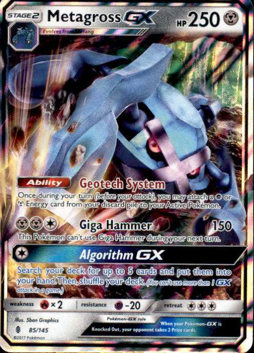 Pokemon Sun Moon Guardians Rising Single Card Ultra Rare