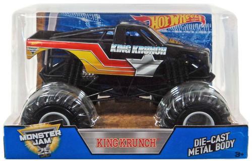 Mattel Hot Wheels Monster Jam 25 King Krunch Diecast Car