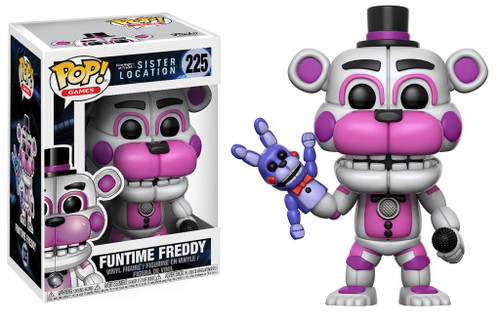 Funko Five Nights at Freddys Sister Location Funko POP ...