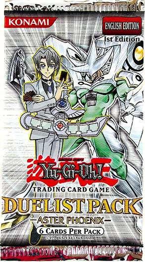 Konami YuGiOh Duelist Pack Aster Phoenix Booster Pack [1s...