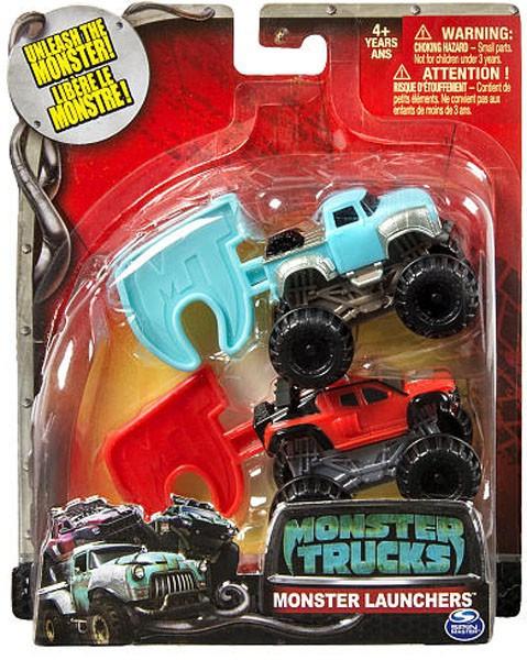 Spin Master Monster Trucks Monster Launchers Big Ugly & R...