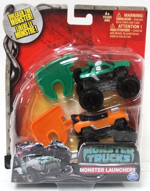 Spin Master Monster Trucks Monster Launchers MVP & Cranks...