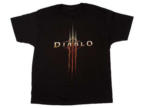 Diablo III Logo T-Shirt [Adult XLarge]