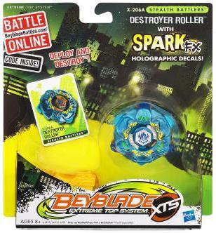 Hasbro Beyblade XTS Stealth Battlers Destroyer Roller Sin...