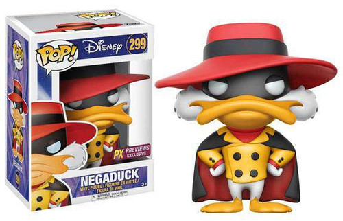 Funko Disney Darkwing Duck Funko Pop Disney Negaduck