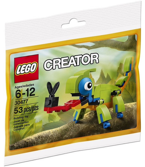 Lego Creator Colorful Chameleon Set #30477 [Bagged]