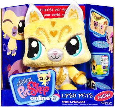 Hasbro Littlest Pet Shop Online LPSO Pets Kitty Plush [Ye...