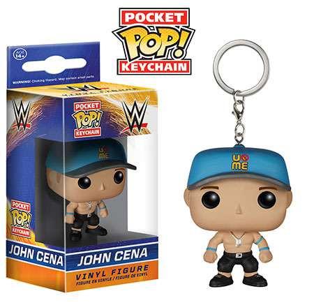 FUNKO INC. WWE Wrestling Pocket POP John Cena Keychain