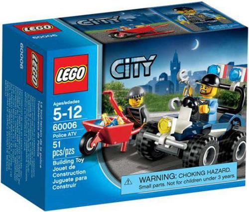 LEGO City Police ATV Set #60006 [Damaged Package]