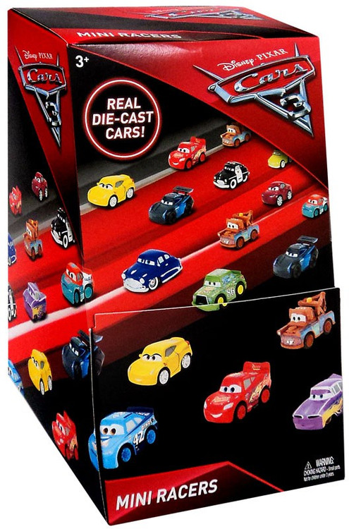 Disney Cars 3 Die Cast Mini Racers Mystery Box 36 Packs
