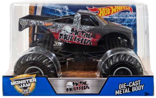 Hot Wheels Monster Jam Metal Mulisha Diecast Car