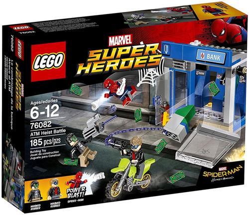 Lego Marvel Super Heroes Spider-Man Homecoming ATM Heist ...
