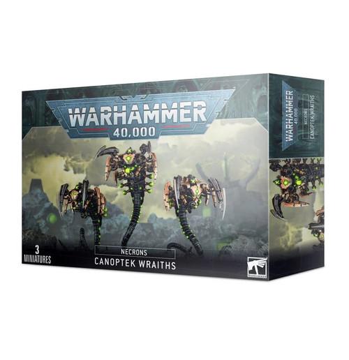 Warhammer 40,000 Necrons Canoptek Wraiths Miniatures
