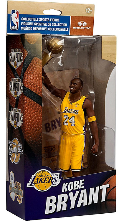 McFarlane Toys NBA Los Angeles Lakers Championship Series Kobe Bryant 6 Action Figure NBA Finals ...