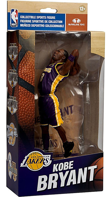 McFarlane Toys NBA Los Angeles Lakers Championship Series Kobe Bryant 6 Action Figure NBA Finals ...