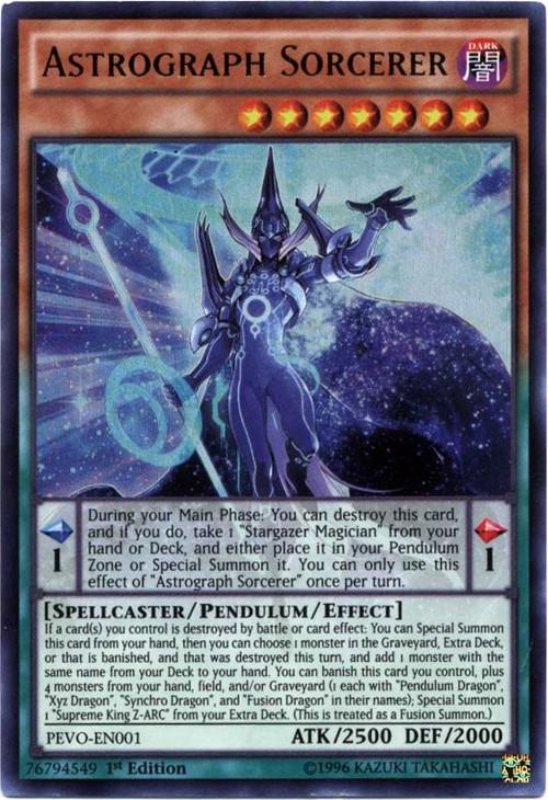 Konami YuGiOh Pendulum Evolution Ultra Rare Astrograph So...