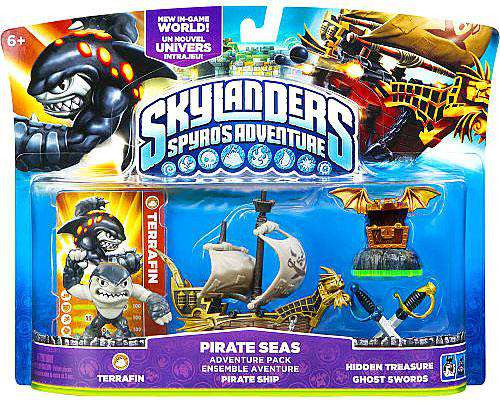 Skylanders Spyro's Adventure Pirate Seas Adventure Pack [...