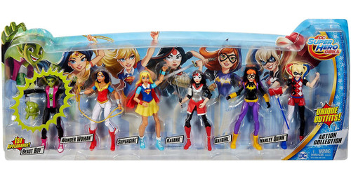 Mattel DC Super Hero Girls Action Collection Exclusive Ac...
