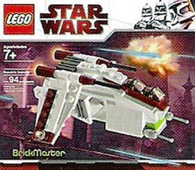 Lego Star Wars BrickMaster Republic Attack Gunship Exclus...