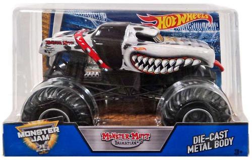 Mattel Hot Wheels Monster Jam Monster Mutt Dalmatian Diec...