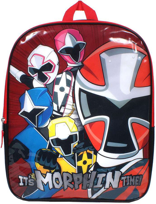 Power Rangers Its Morphin Time Backpack
