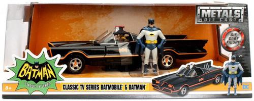 Jada Toys DC Classic TV Series Batmobile & Batman Diecast...