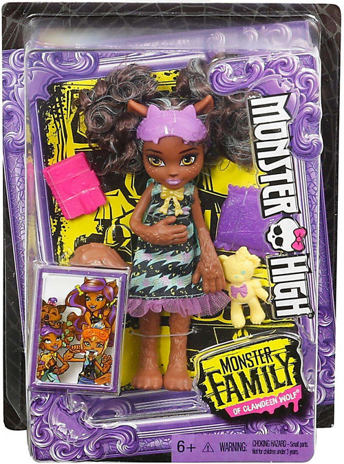 Wolf Family Toy : Monster high family of clawdeen wolf pawla