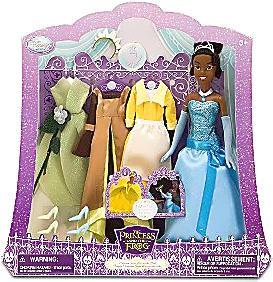 Disney The Princess and the Frog Princess Tiana & Wardrob...