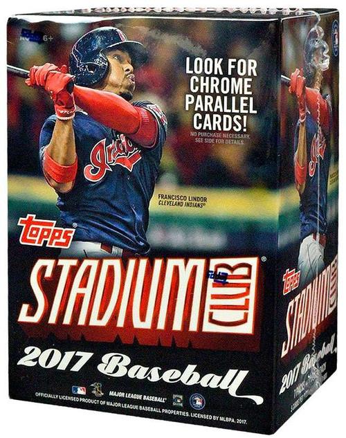 Topps MLB 2017 Baseball Stadium Club Trading Card Blaster...