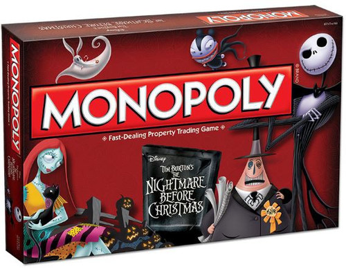 USAopoly Monopoly The Nightmare Before Christmas Board Game