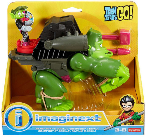 Fisher Price Teen Titans Go Imaginext Beast Boy Gorilla 3 -8056