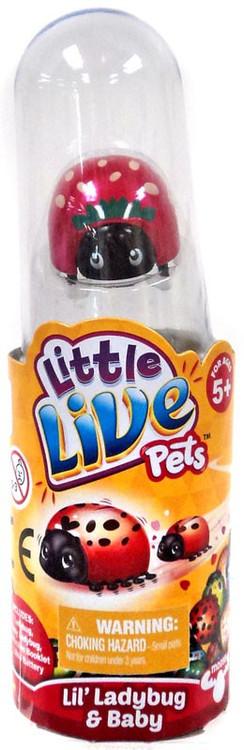 Little Live Pets Lil' Ladybug & Baby Strawberry Figure [O...