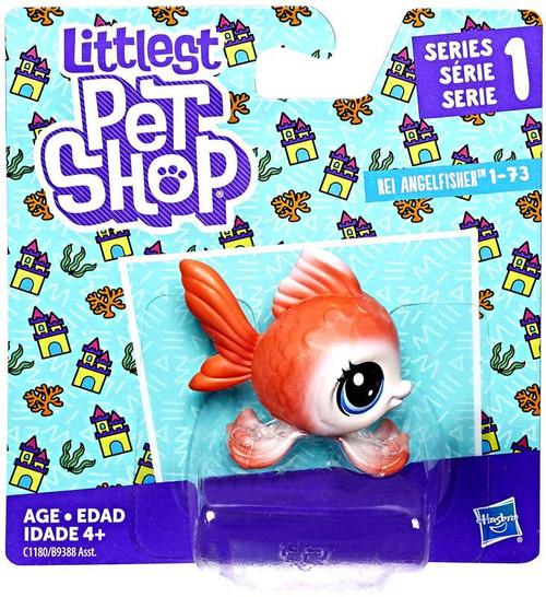 Hasbro Littlest Pet Shop Rei Angelfisher #73
