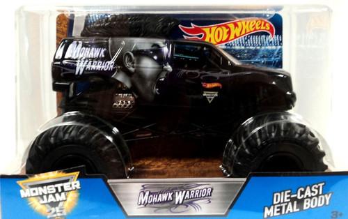 Mattel Hot Wheels Monster Jam 25 Mohawk Warrior Diecast C...