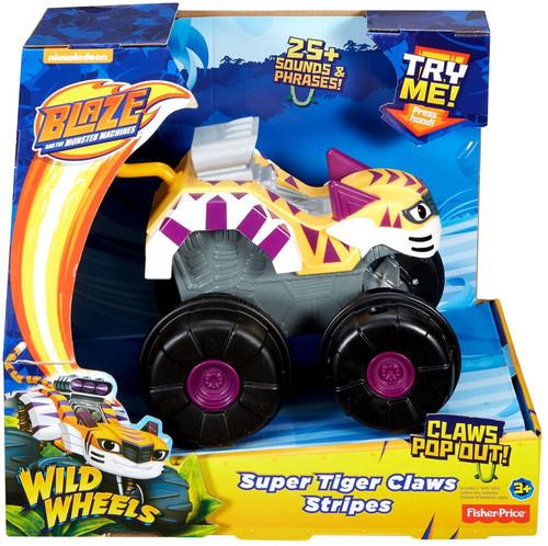 Fisher Price Blaze & the Monster Machines Wild Wheels Sup...