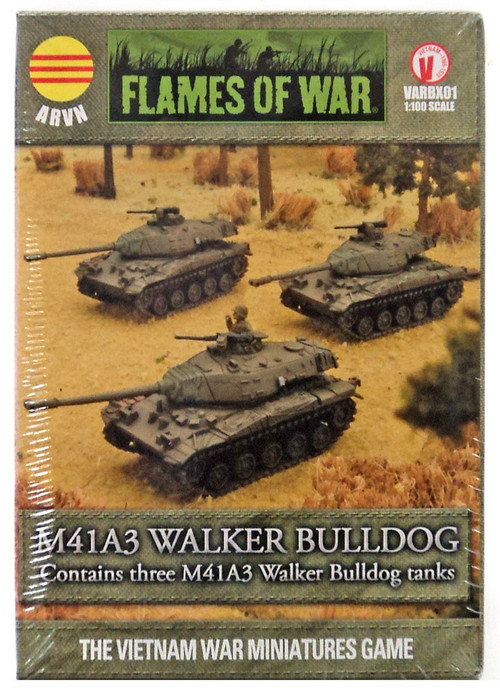Flames of War M41A3 Walker Bulldog Miniatures VARBX01 [Th...